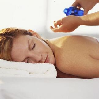 Mix Linament with oil for a healing massage