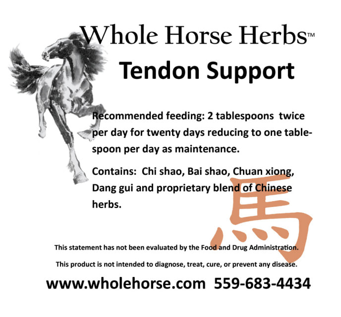 Whole Horse Herb Tendon Support